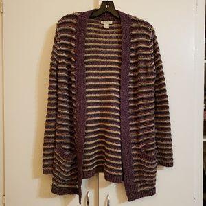Lucky Brand Purple Knit